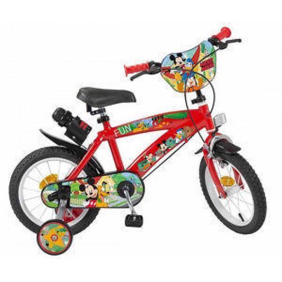 Bicicleta copii 14 inch Mickey Mouse Club House - Toimsa