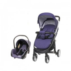 Carucior 2 in 1 Atomic Travel System 4Baby Purple
