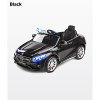 Masinuta electrica Toyz Mercedes-Benz S63 AMG 12V cu telecomanda Black