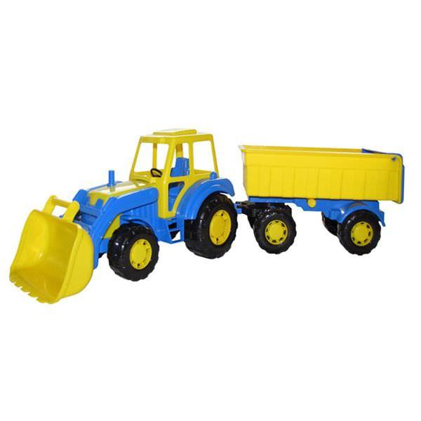 Tractor Altay cu remorca Nr.1 si cupa 65cm