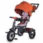 Tricicleta Coccolle Giro Plus multifunctionala - Maro