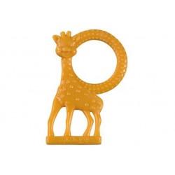 Inel dentitie vanilie in cutie cadou Girafa Sophie Orange - Vulli