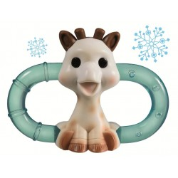 Inel refrigerant dublu Girafa Sophie - Vulli
